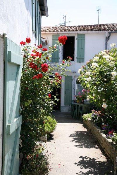 Franse landschappen - Huis ingang ...