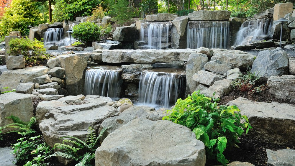 Waterval In Tuin : Waterval tuin